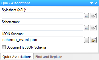 Assign JSON type definitions